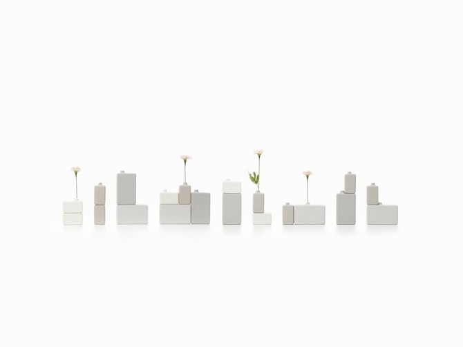 20 block vase One Percent Products Collection by Nendo on thisispaper.com