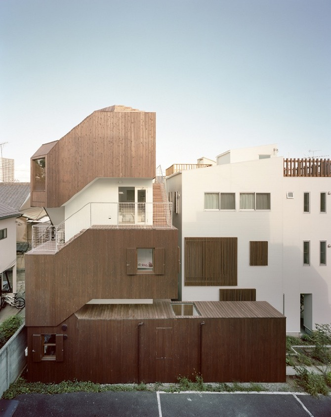 2011OH07.034 Double Helix House by O+H Architects on thisispaper.com