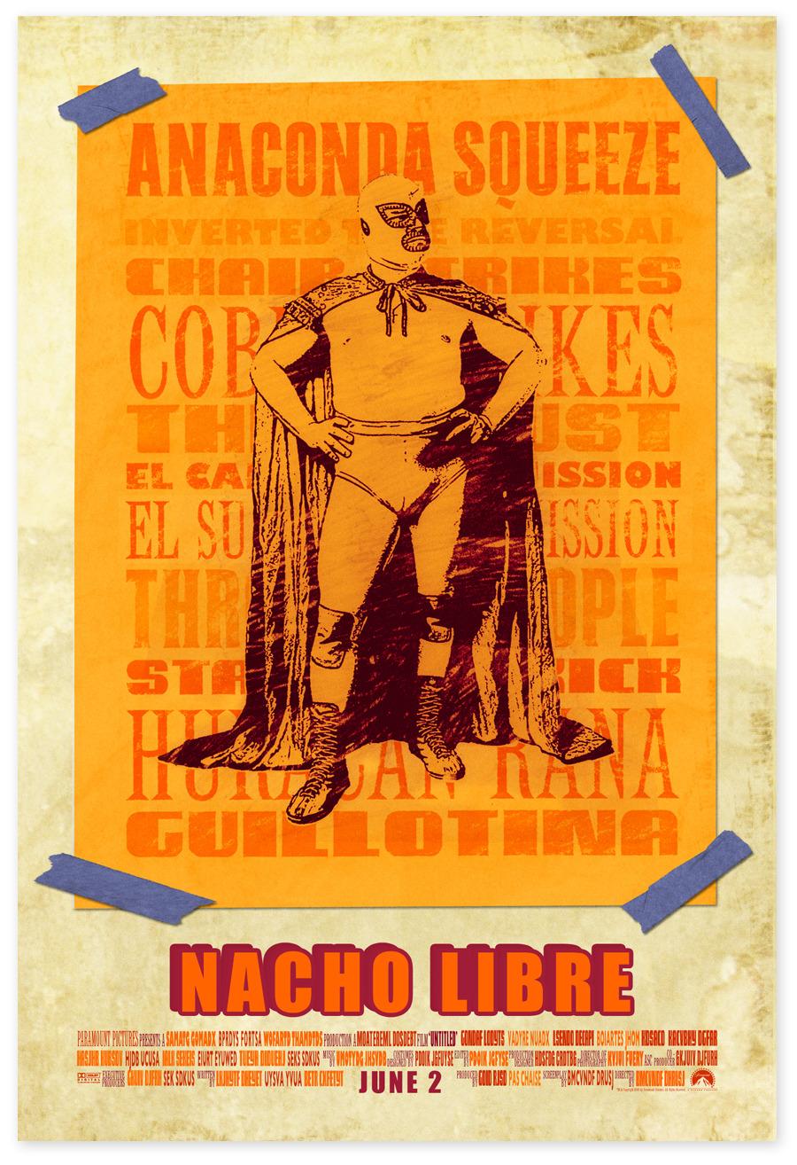 Nacho Libre Posters Melissacassara Com